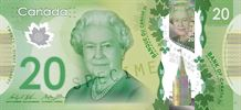 ۲۰ دلار کانادا