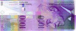 ۱۰۰۰ فرانک سوئیس